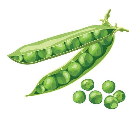 pea: green pea beans