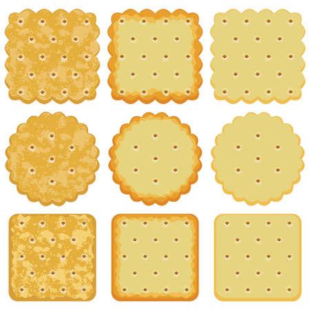 galletas: conjunto de chips de la galleta