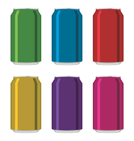 cold drinks: drink cans