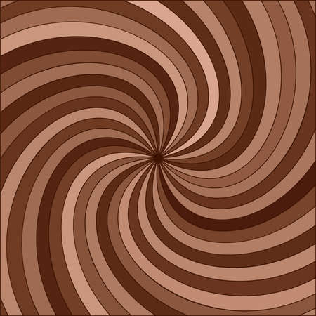 abstract background of chocolate swirl