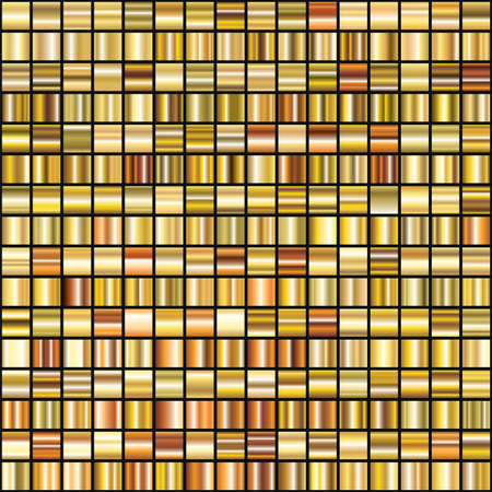 gradient: vector set of shiny 256 abstract gold gradient backgrounds for decoration design