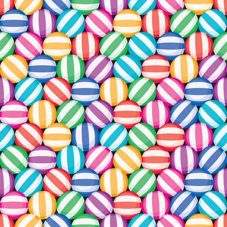confection: vector seamless candy background pattern. colorful candies with stripes. food decoration texture, striped rainbow colors for christmas and other holidays