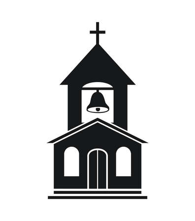 Religious symbol of christian church.