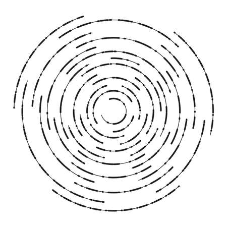 Abstract   of concentric ripple circles.