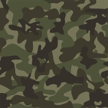 vector summer camouflage, seamless background pattern. army military textile, camoflage clothing seamless design Ilustração