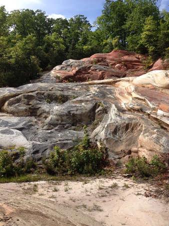 Daniel Boone で砂岩形成