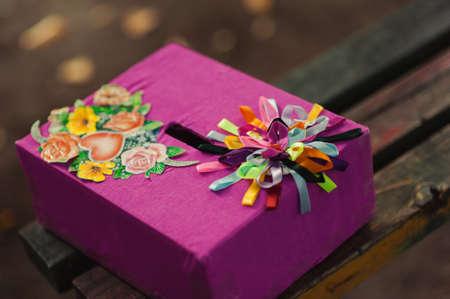 Box für Wünsche und Geld für die Hochzeit