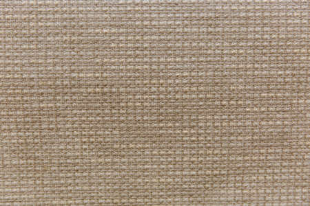 Light natural linen texture for the background for design and decoration Banco de Imagens