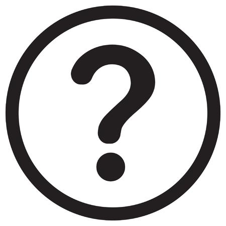 Question mark icon Ilustrace