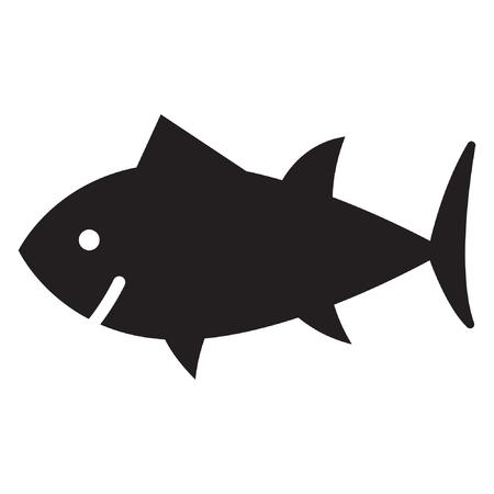 tuna icon. fish icon. isolated sign symbol 向量圖像