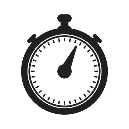 Cronometro icona illustrazione vettoriale