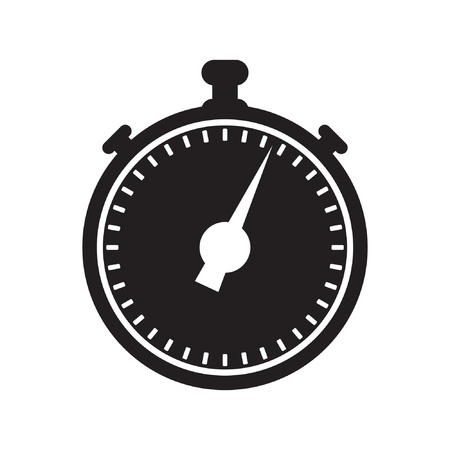 Stopwatch icon vector illustration