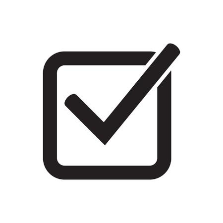 Tick icon, check mark Standard-Bild - 122775110