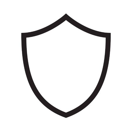 Shield icon. protection icon. vector sign 向量圖像