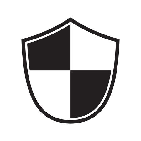 Shield icon. Protection icon. vector sign Standard-Bild - 122775114