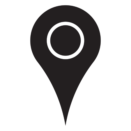 Maps pin. Location map icon. Standard-Bild - 122775116