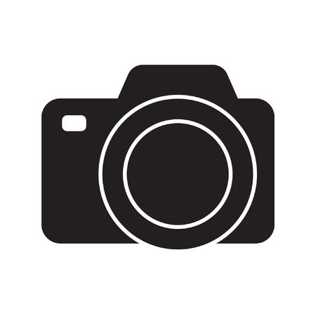 Photo camera vector icon Standard-Bild - 122775122