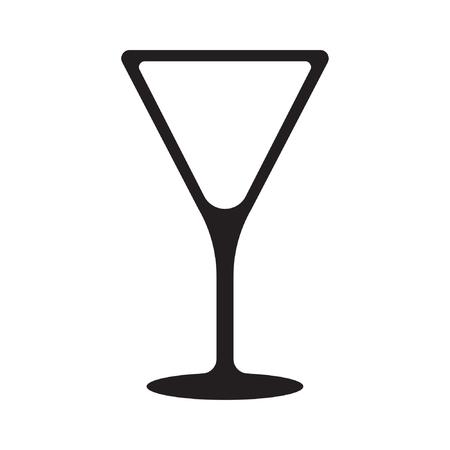 Cocktail vector icon, drink icon Standard-Bild - 122617107