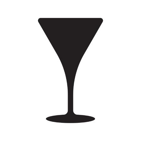 Cocktail vector icon, drink icon Standard-Bild - 122617110