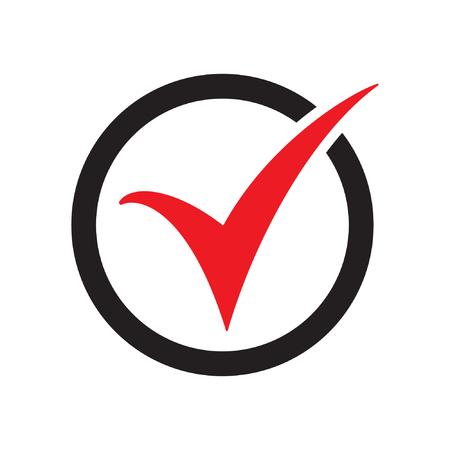 Check mark or check box icon, check mark or checkbox pictogram Standard-Bild - 122617167