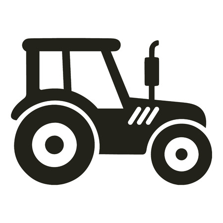 Tractor icon vector isolated Standard-Bild - 122617168