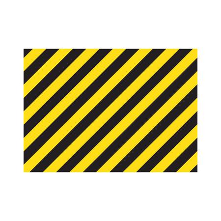 Yellow stripes on the diagonal