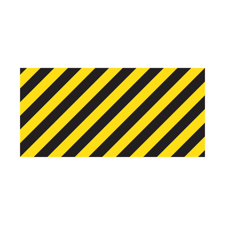 Yellow stripes on the diagonal Standard-Bild - 123536269