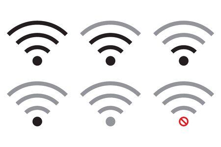 WiFi icon. Internet vector icon.