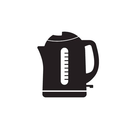 Electric kettle icon. Simple illustration of electric kettle vector icon