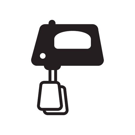 Kitchen mixer icon, vector isolated Illusztráció