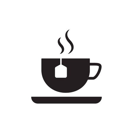 Tea icon in trendy flat style design. Vector graphic illustration. Archivio Fotografico - 138046097