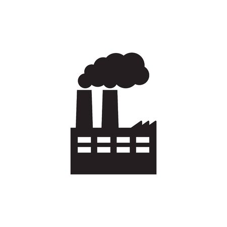 Vector illustration of industry icon, Factory icon. Standard-Bild - 147748539