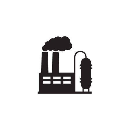 Vector illustration of industry icon, Factory icon. Standard-Bild - 147798898