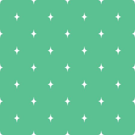 Vector seamless star pattern, star background in soft green color. It can be used for packaging, wrapping paper, textile and etc.