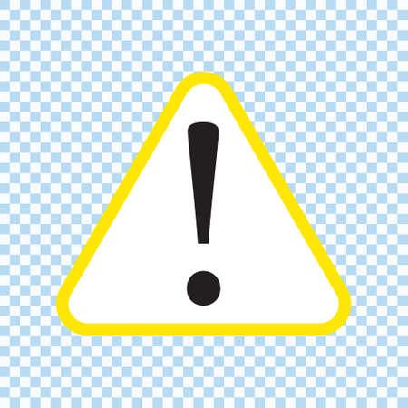 Danger sign, warning sign, attention sign, hazard sign, vector illustration Ilustrace