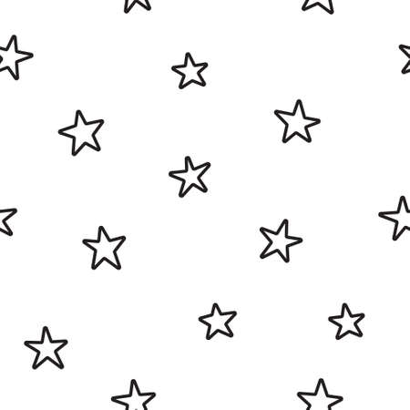 Vector seamless star pattern, star quote, saying, retro, wedding, vintage, greeting card, web template.