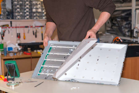 Replacing LED backlight on modern LCD TV