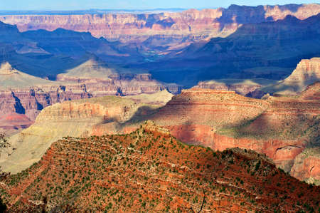 Beautiful Grand Canyon landscape. photo