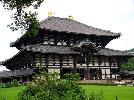 buddha house in Nara, Japan