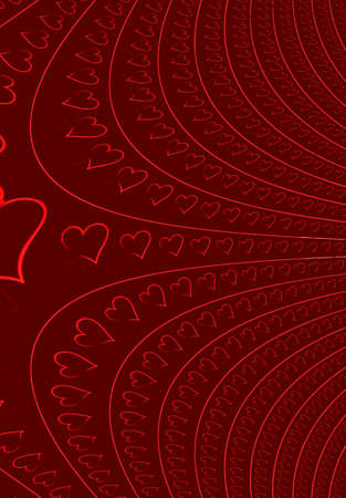Valentines abstract background set with pattern of hearts