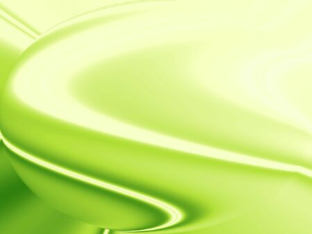 Warm waves, Abstract green wavy background