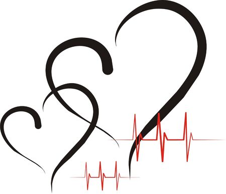 attentiveness: heart health Stock Photo