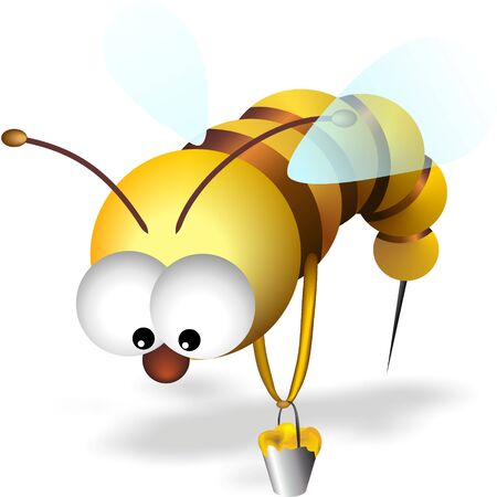 confuse: bee