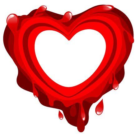 bleed: Bloody heart
