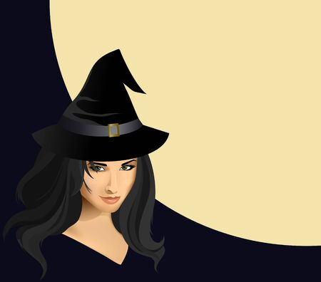 Beautiful witch photo