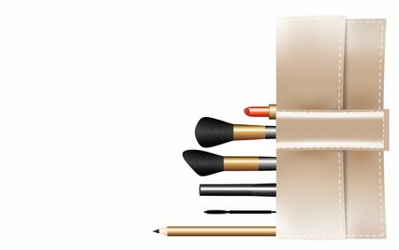 ceremonial makeup: Beautician Stock Photo