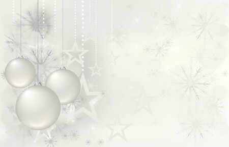 magic christmas background with stars
