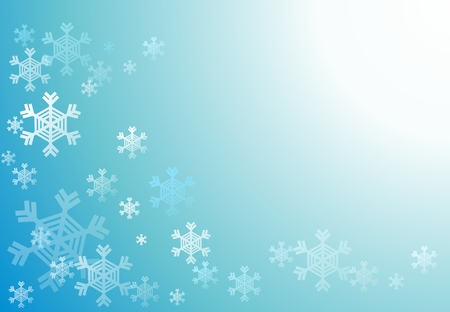 place for text: winter background with place for text