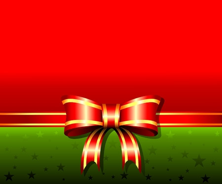 elegant Christmas red background with place for text
