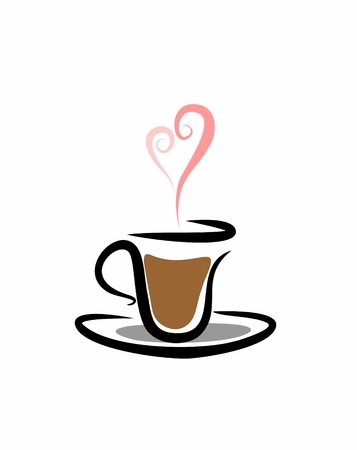 espresso to you with love Stock Photo